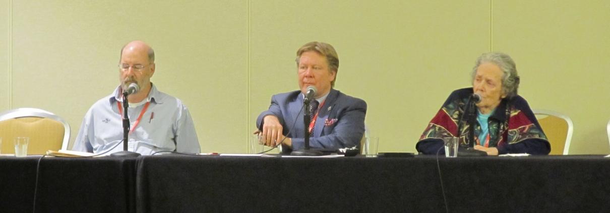 Bill Lamb, David Fletcher, Patricia Anderson