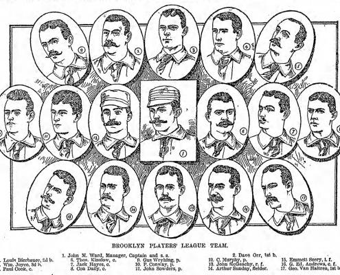 1890 Brooklyn Players League team: Ward's Wonders