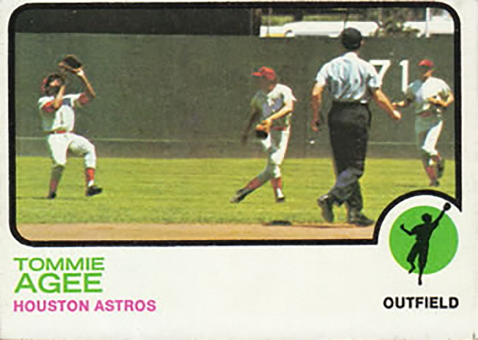 1973 Topps: Tommie Agee