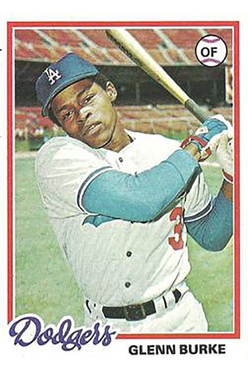 1978 Topps: Glenn Burke