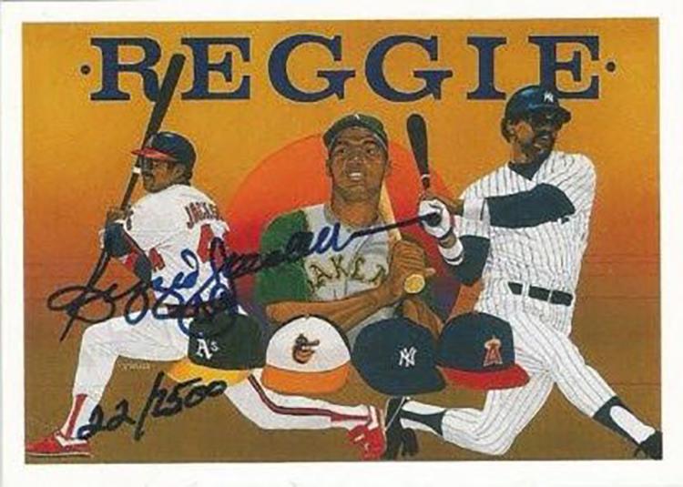 """1990 Upper Deck: """"Find the Reggie"""""""