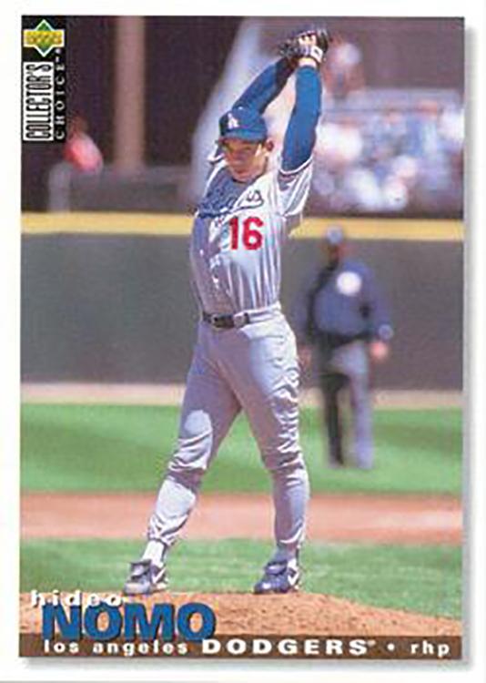 1995 Collectors Choice: Hideo Nomo