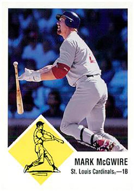 1998 Fleer Tradition Vintage: Mark McGwire