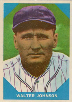 Walter Johnson (TRADING CARD DB)