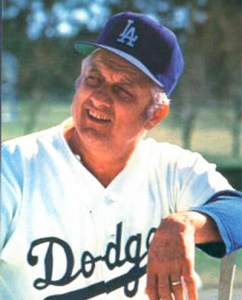 Tommy Lasorda (TRADING CARD DB)