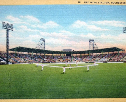Silver Stadium, Rochester, NY (KURT BLUMENAU)