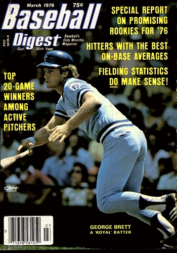 Baseball Digest, March 1976