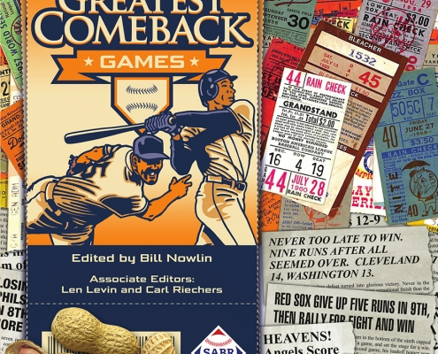 Baseball's Greatest Comeback Games, edited by Bill Nowlin