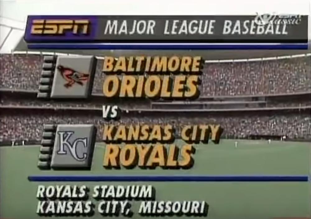 ESPN 1990 baseball broadcast (YOUTUBE.COM)