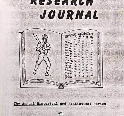 Baseball Research Journal #1 (1972)