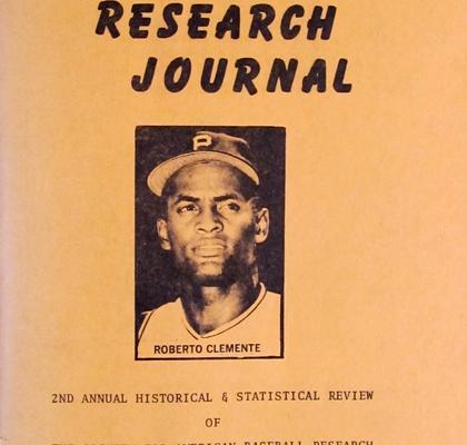 Baseball Research Journal #2 (1973)