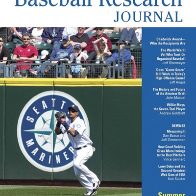 Baseball Research Journal, Summer 2010 (Vol. 39, No. 1)
