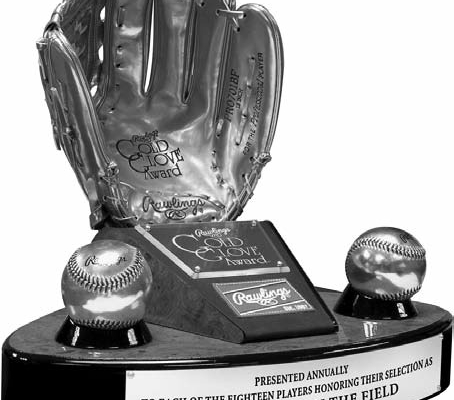 In 1957, Rawlings established the award for the player who would be voted the best fielder at his position.