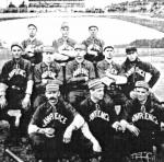 The first recorded game in Lawrence was shortly after the Civil War. After a complicated, protracted dispute, Lawrence was ultimately declared champion of the short-lived Eastern New England League in 1885.