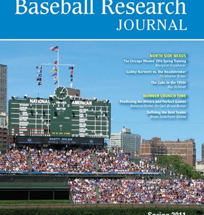 Baseball Research Journal, Spring 2011 (Vol. 40, No. 1)