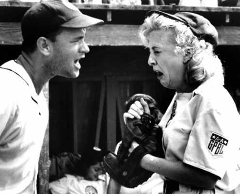 Manager Jimmy Dugan's (Tom Hanks) line was an iconic moment in 1992's