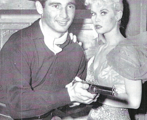 In his 1959 acting debut in