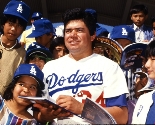 A magnet for drawing Latino, especially Mexican-American, fans to Dodger Stadium.