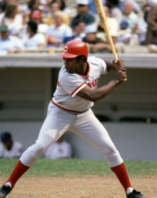 first NL hitter to appear in the DH role in the World Series. He batted .357 for the Cincinnati Reds in 1976.