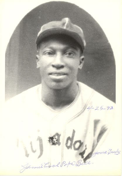 Cool Papa Bell (CENTER FOR NEGRO LEAGUES BASEBALL RESEARCH)