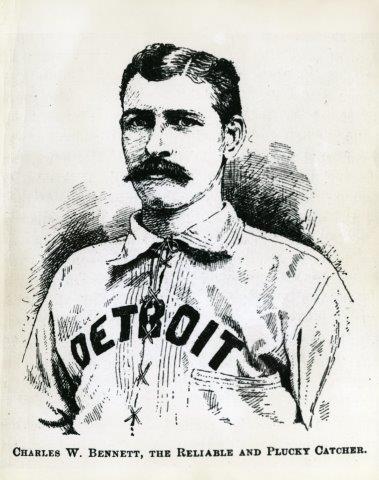 Charlie Bennett (NATIONAL BASEBALL HALL OF FAME LIBRARY)