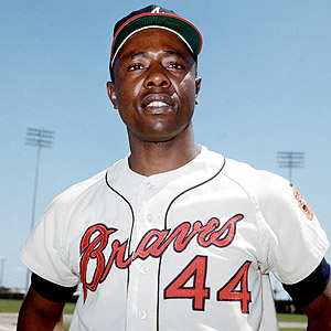 Henry Aaron (NATIONAL BASEBALL HALL OF FAME LIBRARY)