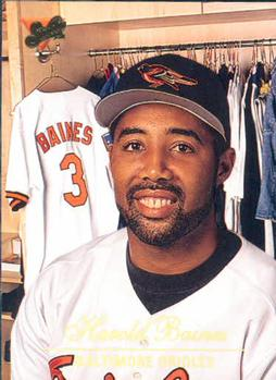 Harold Baines (TRADING CARD DB)