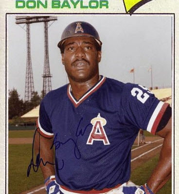 Don Baylor (THE TOPPS COMPANY)