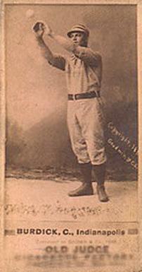 Bill Burdick (TRADING CARD DB)