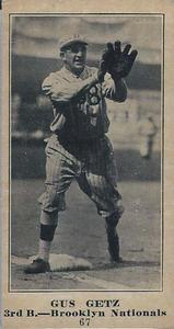 Gus Getz (TRADING CARD DB)