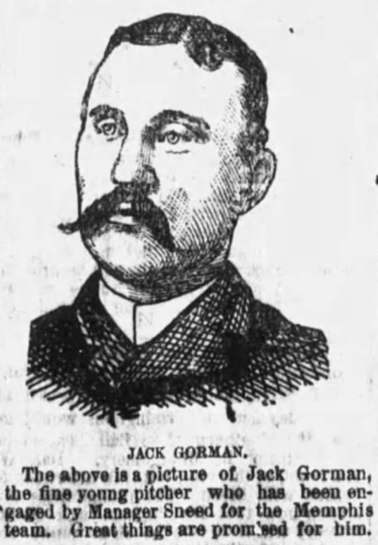 Jack Gorman (Nashville Tennessean, February 13, 1887: 7.)