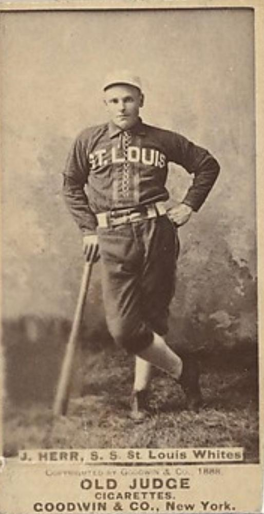 Joseph Herr (TRADING CARD DB)