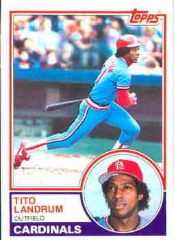 Tito Landrum (TRADING CARD DB)