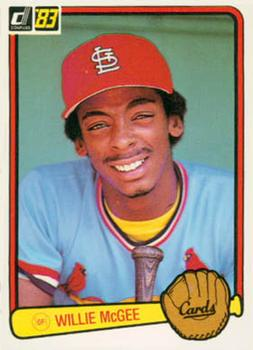 Willie McGee (TRADING CARD DB)