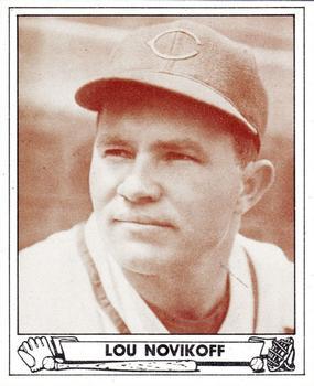 Lou Novikoff (TRADING CARD DB)