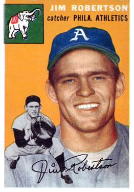 Jim Robertson (TRADING CARD DB)