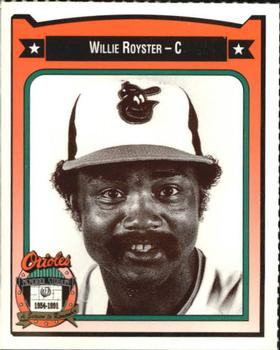 Willie Royster (TRADING CARD DB)