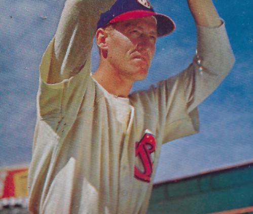 "Aldon ""Lefty"" Wilkie, 1948 Signal Gasoline baseball card"