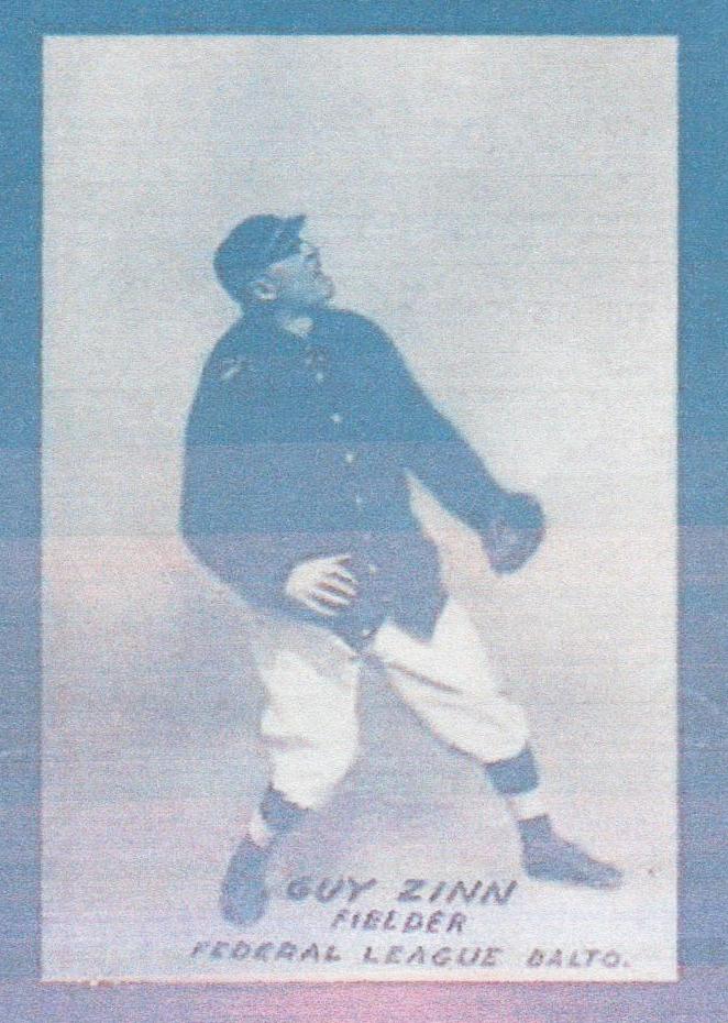 Guy Zinn baseball card (TRADING CARD DB)