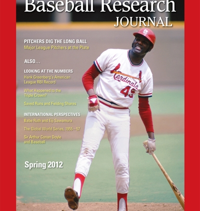 Baseball Research Journal, Spring 2012 (Vol. 41, No. 1)