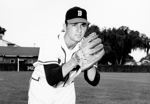 On leave from the Boston Braves, he dominated the Japanese in two games of their five-game series with the Fort Myer Colonials.