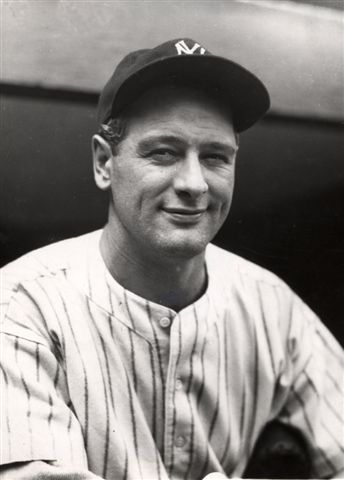 Lou Gehrig (NATIONAL BASEBALL HALL OF FAME LIBRARY)
