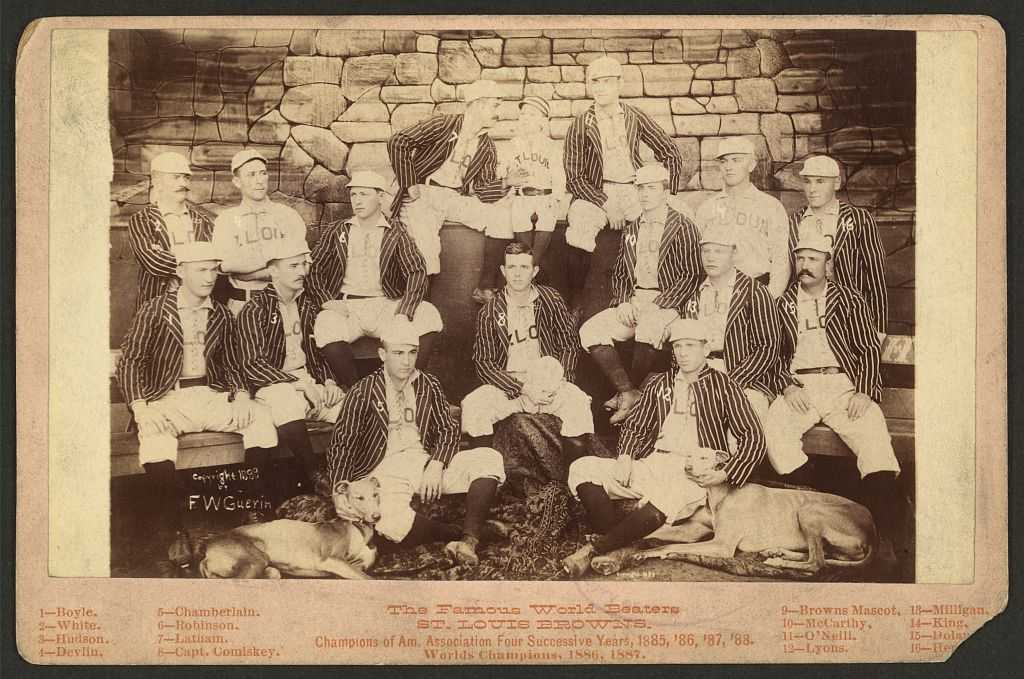 The 1888 St. Louis Brown Stockings (LIBRARY OF CONGRESS)