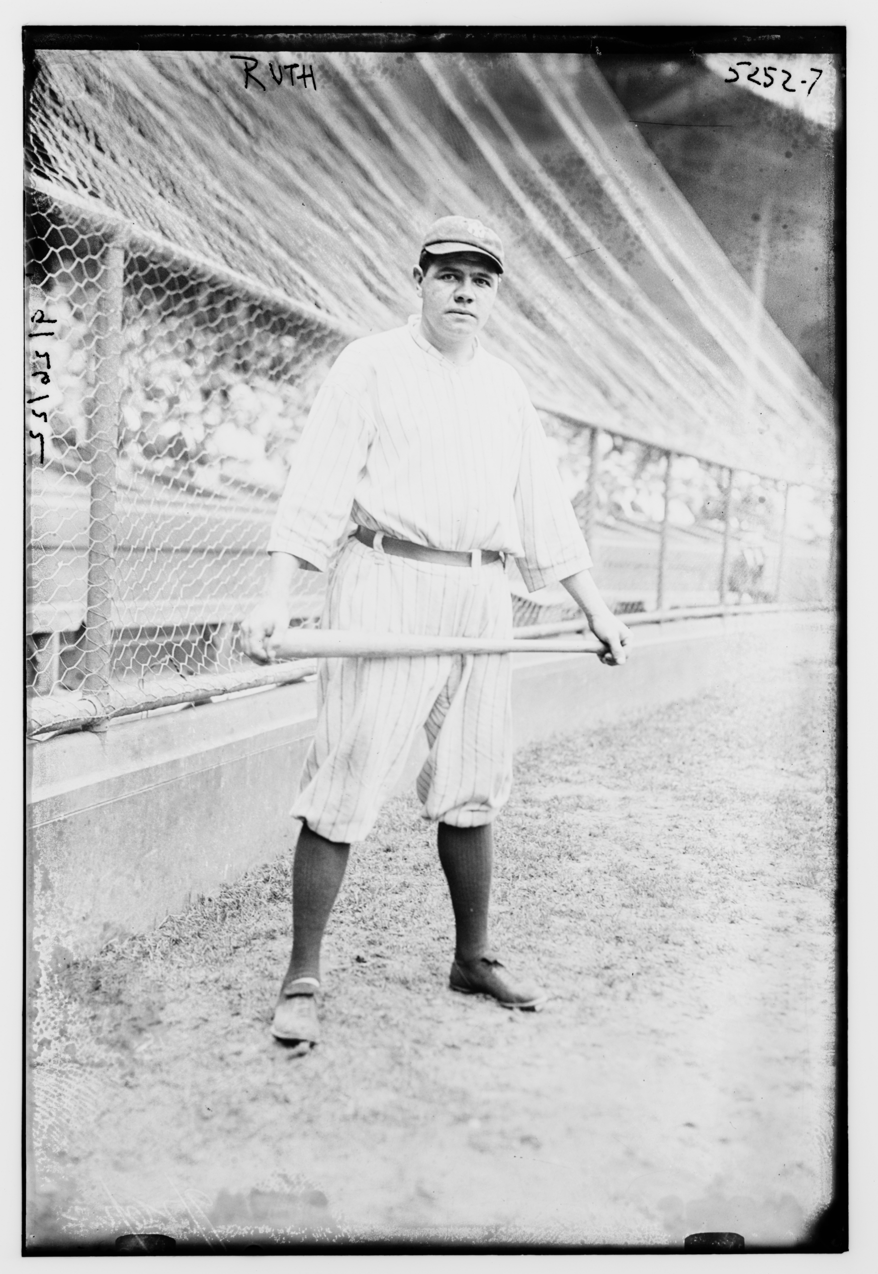 Babe Ruth, 1921 (LIBRARY OF CONGRESS)