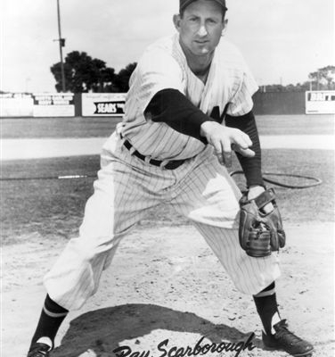 holds the first modern assigned win in baseball history, April 18, 1950.