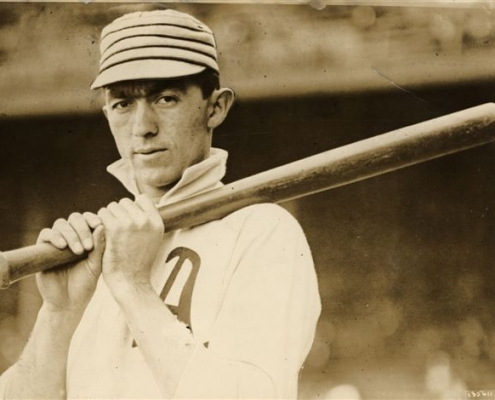 """had already earned the nickname """"Home Run"""" before he starred in the 1911 World Series."""