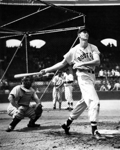 Ted Williams (NATIONAL BASEBALL HALL OF FAME LIBRARY)