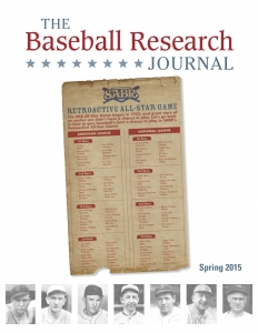Baseball Research Journal, Spring 2015