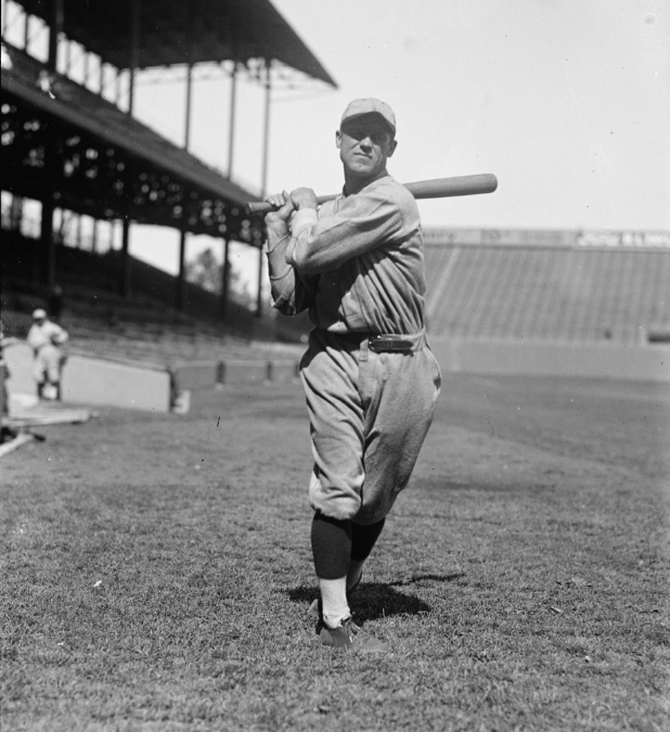 George Sisler's batting average was above the .400 mark for all but two games of the 1922 season. (NATIONAL BASEBALL HALL OF FAME LIBRARY)