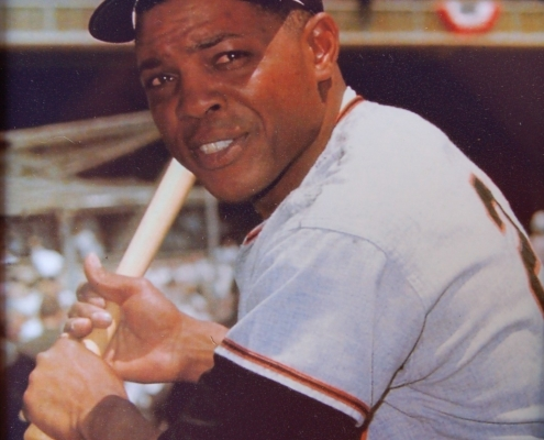 Willie Mays (NATIONAL BASEBALL HALL OF FAME LIBRARY)